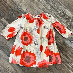 Baby gap cotton floral dress size 3-6 months
